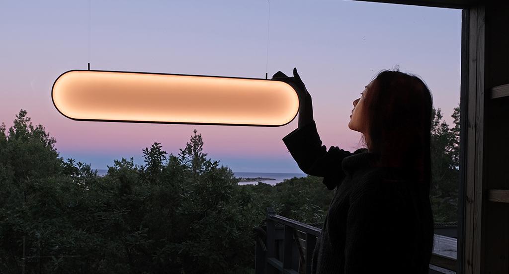Sunne Lamp Marjan van Aubel Studio