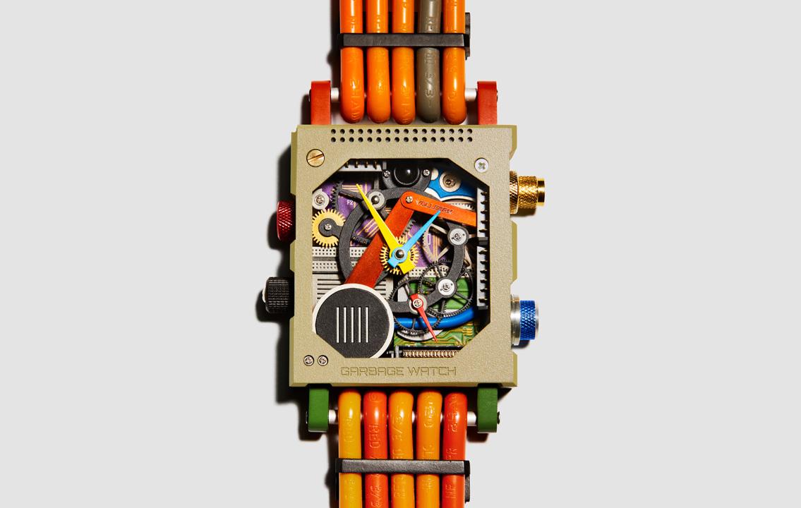 Garbage watch by Vollebak